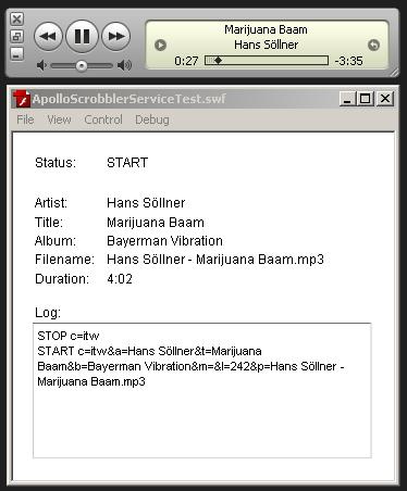iTunes talking to Flash